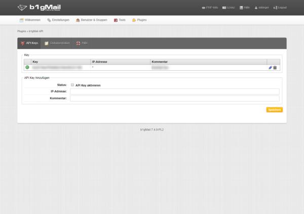 b1gMail API